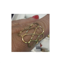 Anel em ouro 18k Infinity