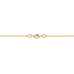 Pulseira infantil ouro 18k - Ref: 64098