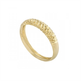 Anel em ouro 18 k  - Ref: AN 016